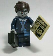 NEW Zombie Businessman Series 14 Braaains Newspaper LEGO Minifigure Mini Figure