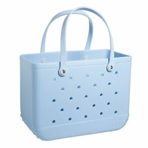 Bogg Bag Original Large Carolina On My Mind BLUE Bogg Tote 26OB-CARO