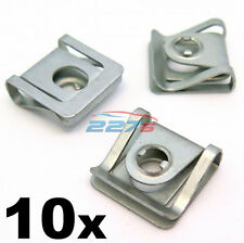 10x VW Passat Spire Clips / Speed Nuts for Engine Undertray Panels 8D0805960
