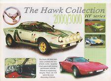 Hawk hf2000 & hf3000 Kit Car (Lancia Stratos Replica, gb) _ 1999 folleto brochure