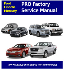 2007 FORD LINCOLN MERCURY PRO Factory Service and Repair Manual OEM CD DVD