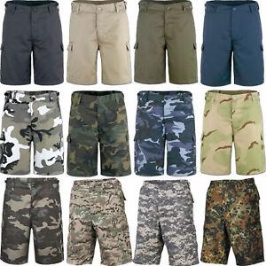 US BDU Bermuda Army Cargo Shorts S-7XL 12 Farben Combat Short Ranger uni tarn