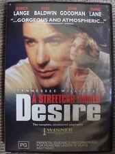 A STREETCAR NAMED DESIRE - ALEC BALDWIN - DVD RARE R4 PAL OOP DELETED WILLIAMS