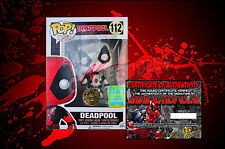 2016 Summer Convention Exclusive Deadpool 112 Funko POP! Figure - SIGNED BY ROB!
