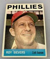 1964 Topps # 43 Roy Sievers Baseball Card Philadelphia Phillies
