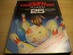 Interton VC 4000 Cassette Nr.25 Bowling