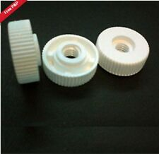 10 pack of M5 Nylon Thumb Nuts without Collar, 20mm OD