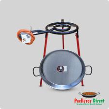 50cm Spanish Paella Pan & 35cm Gas Burner Kit / Set