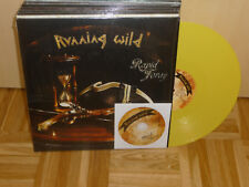 RUNNING WILD rapid foray  YELLOW  2LP + CD NEU NEW only 200
