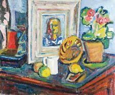 Sasza BLONDER / André BLONDEL (1909-1949) HsT 1945 / Ecole de Paris / Fauvisme