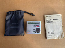 Sony Md Walkman Mz-R70 Portable Mini Disc Recorder Silver - Tested Working!