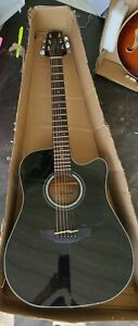 Takamine G Series GD30-CE BLK Acoustic Electric Guitar 6 String