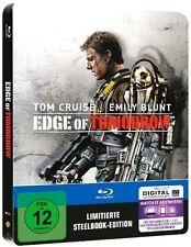 EDGE OF TOMORROW (Tom Cruise) Blu-ray Disc, Steelbook NEU+OVP
