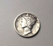 1940 S circulated Mercury Dime