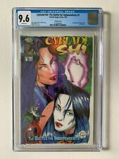 CYBLADE/SHI: THE BATTLE FOR INDEPENDENTS #1B Var CGC 9.6 / WPs (Crusade/Image)