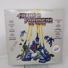 The Transformers: The Movie Rare Scotti Bros OST LP 1986