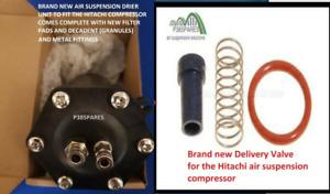 Range Rover Sport Hitachi Air suspension compresso Delivery Valve & Drier Unit