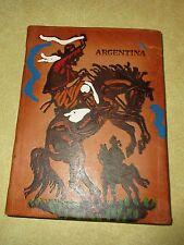 Argentina Martin Fierro Leather Bound Book by Jose Hernandez - Spanish - 1983
