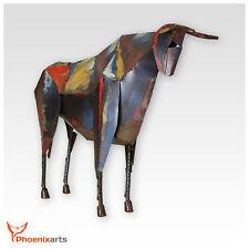 Sculpture En Métal Taureau Vintage Figurine Décorative Fer Animal 411