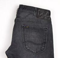 Lee Hommes Knox Slim Jeans Jambe Droite Taille W36 L32 APZ535
