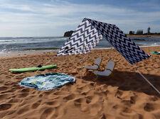 CARIBEE LONG REEF 330x180cm BEACH TENT UV GUARDIAN SUN SHELTER PICNIC FLY