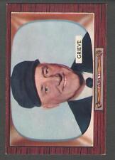 1955 Bowman #275 William Grieve Umpire