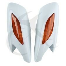 Rear View Mirrors Orange Turn Signals Lens Fit For Honda ST1300 ST 1300 02-11