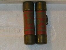 (LOT OF 2)Royal Electric 60A 250v one time fuse