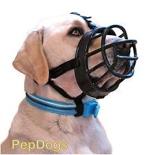 Baskerville Ultra regolabile Museruola per cani dimensioni 1 2 3 4 5 6 Blu 5 Labrador