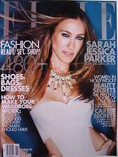 SARAH JESSICA PARKER  November 2012 ELLE  MagazineHOLLYWOODS' BEAUTY SECRETS