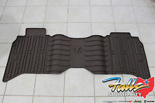 2013-2017 Dodge Ram 1500 2500 3500 Crew Cab Canyon Brown Rear Floor Mat OEM