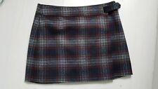 M & S Collection Marks & Spencer wool blend check tartan skirt size 18 NWOT