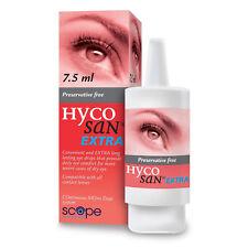 Hycosan Extra Gouttes pour les yeux lubrifiant durable sans conservateur 7.5ml