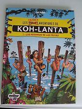 BD les vraies fausses aventures de KOH-LANTA