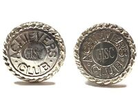Vintage Men's Sterling Silver 'GISC' Achievers Club Cuff links