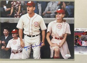 "Tom Hanks Signed ""A League of Their Own"" 11x14 Photo Autographed AUTO w/ JSA COA"