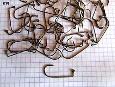 X30 hameçons N°1/0 Bronze jig têtes plombées leurre souple perche sandre brochet