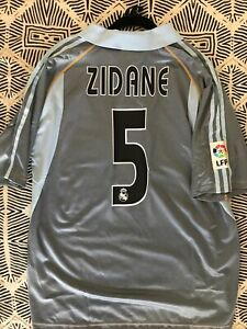 Zidane #5 2006-2008 XL New With Tags & One LFP Patch