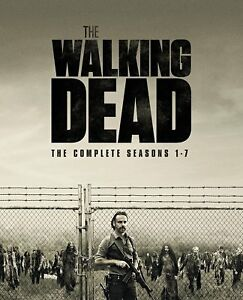 The Walking Dead The Complete Season 1, 2, 3, 4, 5, 6 & 7 blu Box Set RB