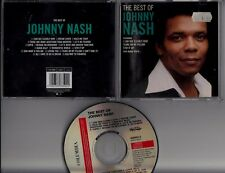JOHNNY NASH The Best Of  1998 CD MEMORY POPSHOP POP REGGAE I Can See Clearly Now
