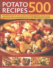 500 POTATO RECIPES NEW Cookbook POTATOES Cooking BAKED Boil FRY Clay Pot SWEET