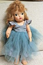 "Terri Lee Doll 16"" 1955 Original Outfit Stamped Needs Some Tlc One Owner"