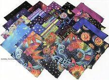 "CELESTIAL MAGIC Square Bundle from Clothworks - (42) 5"" squares - #SQ0308"