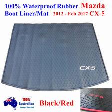 Customized Waterproof Rubber Boot Liner Cargo Mat Mazda CX-5 2012 - Feb 2017