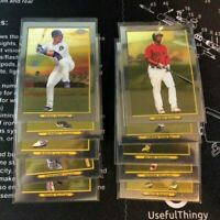 2020 Topps Series 1 Turkey Red CHROME Lot of 10 cards NO DUPE's Nice Starter Set