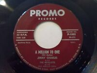 Jimmy Charles & The Revelettes A Million To One / Hop Scotch Hop 45 Vinyl Record