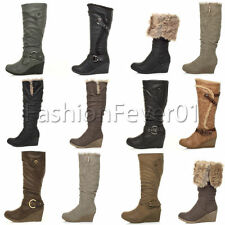 Unbranded Pull On Synthetic Boots for Women