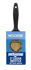 Wooster Yachtsman  3 in. W Flat  White China Bristle  Paint Brush