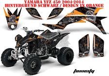 Amr racing décor Graphic Kit ATV yamaha yfz 450 04-14 yfz450r 09-16 toxicity B