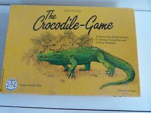 The Crocodile Game by Johann Ruttinger  Board Game. Complete